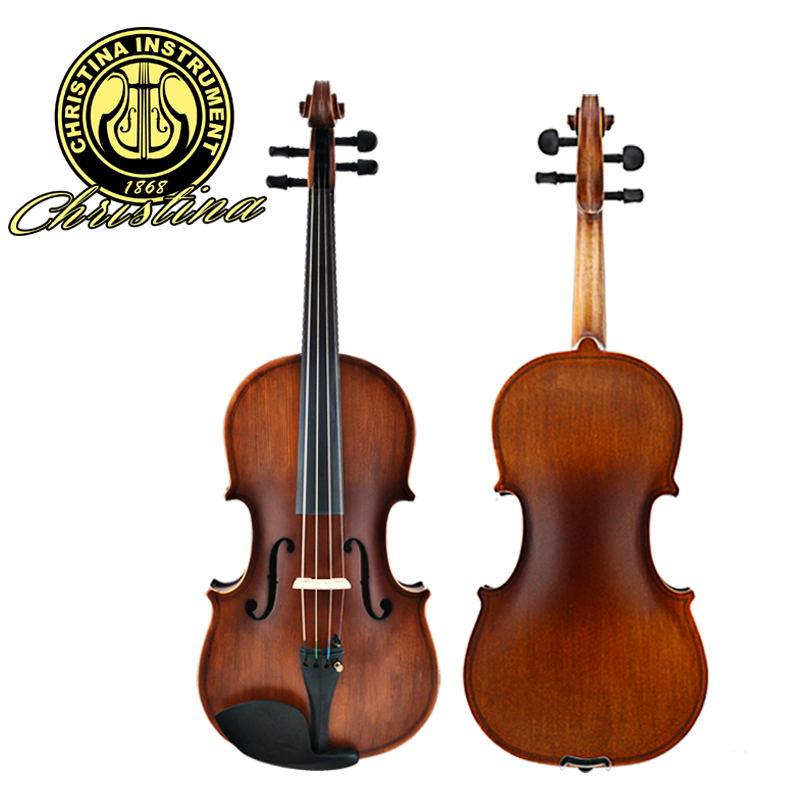 Christina V01 Genuine Antique Hand Grading Christina violin V01 for beginner musical instrument