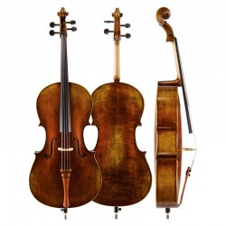 Christina C05 matte antique handmade cello,Professional playing and Grading Cello