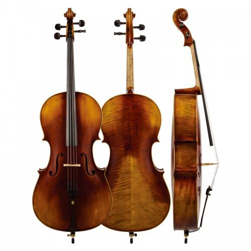 Christina Cello C06, professional matte antique handmade cello musical instrument