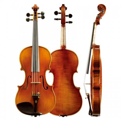 Christina violin V06C hand made ebony accessories high grade solo violin, graded instrument