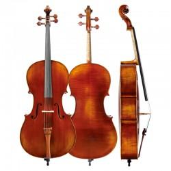 Christina SC300, imported European antique tiger pattern, professional performance Cello